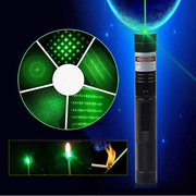 Adjustable Focus Laser Pointer Flashlight Style
