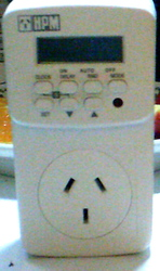 Electronic Timer and Power consumption monitor