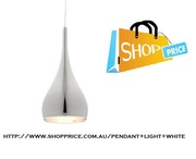 Cougar Aero Pendant Light - White