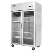 Atosa Top Mounted Double Display Door Freezer Showcase MCF8602