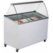 7 Tub Ice Cream Gelato Curved Display Canopy Fridge Bromic GD0007S