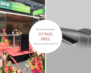 Find Top Stage Hire Melbourne